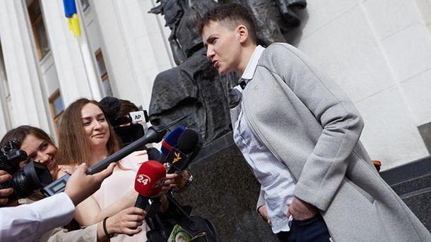 Савченко назвала Евромайдан национальным  переворотом