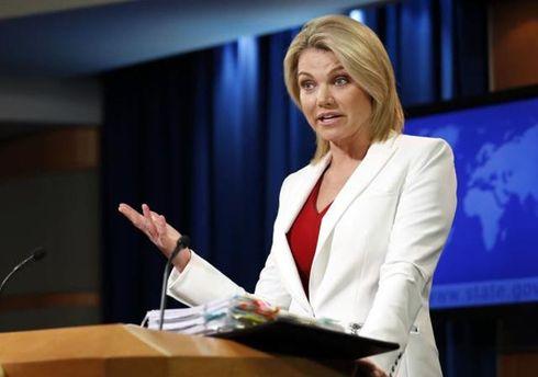 Посольство США вКиеве призывает не использовать насилие вотношении Саакашвили