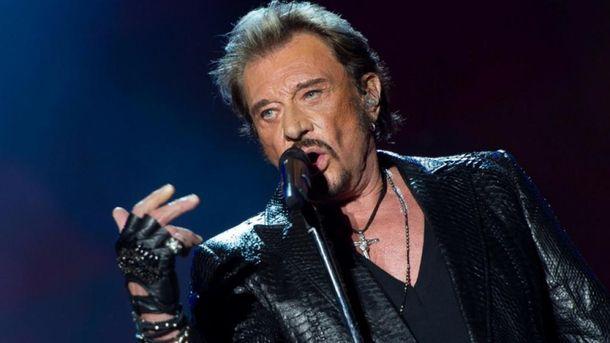 Помер відомий французький співак Джонні Голлідей
