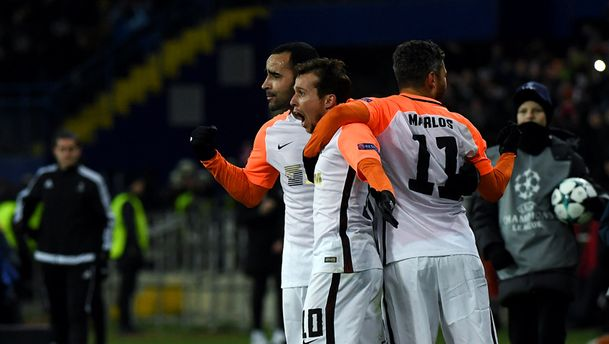 Шахтер уверенно победил Манчестер Сити и вышел в 1/8 Лиги чемпионов