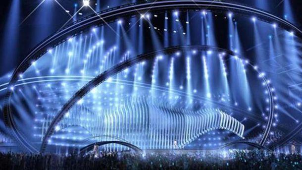 Дизайн сцены «Евровидения-2018» приурочен к теме моря инавигации