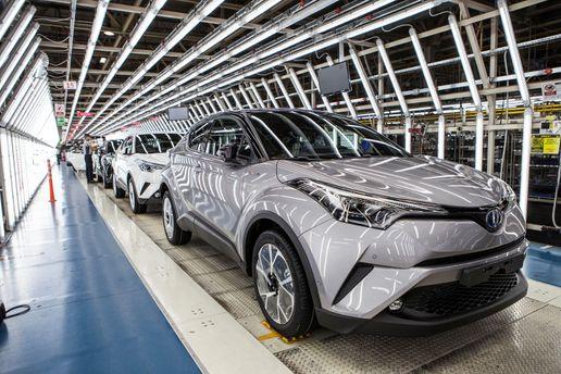 В Україні найбільше продається авто марки Toyota