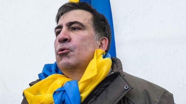 Грузины вышли на улицу, чтобы поддержать Саакашвили
