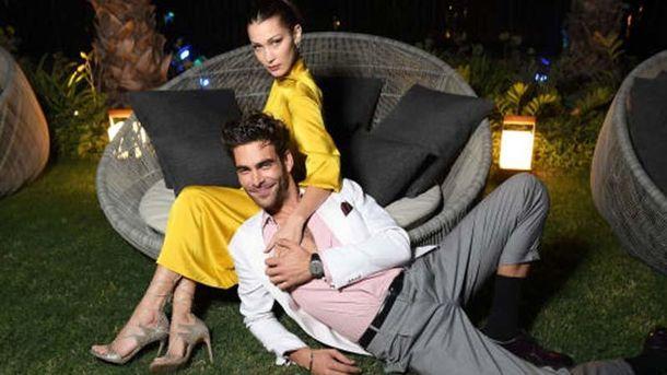 Белла Хадід заінтригувала спільною появою з чоловіком-моделлю: фото