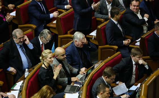 ВБПП поведали, очем Порошенко иГройсман говорили нафракции