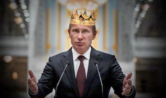 Путін знову збирається стати президентом: з'явилася свіженька карикатура