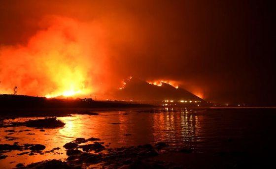Пекельні пожежі: в Лос-Анджелесі зафіксували найвищий в історії рівень пожежної небезпеки
