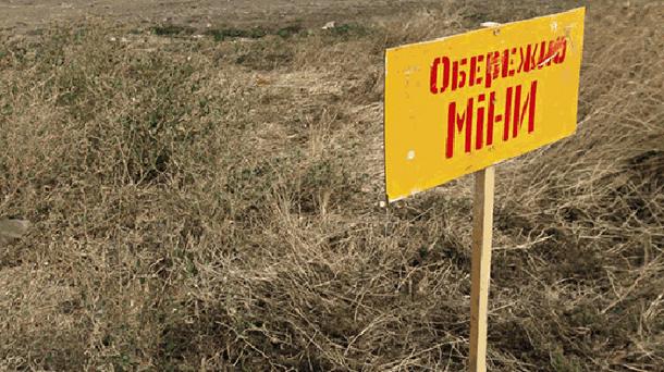 Літній чоловік підірвався на міні на Луганщині