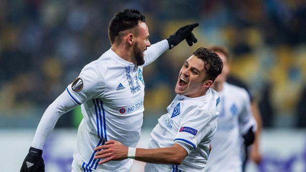 Динамо разгромило Партизан и вышло в плей-офф Лиги Европы