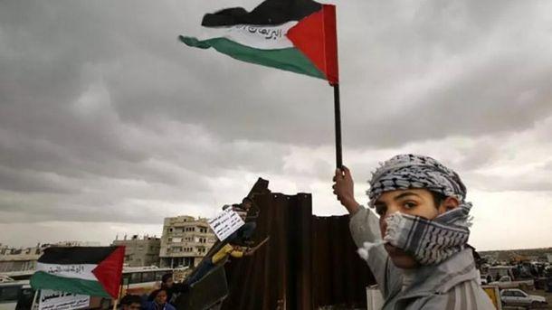 Палестинців закликають до масштабного повстання через рішення Трампа