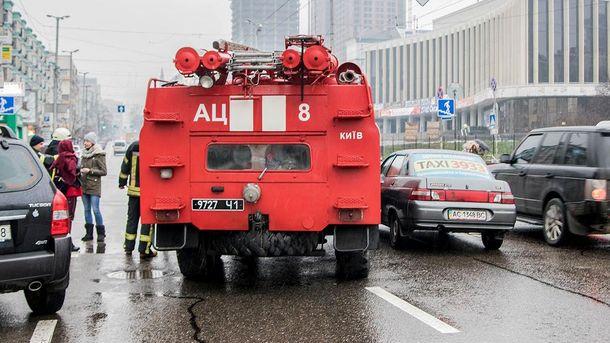 У центрі Києва сталася незвична ДТП