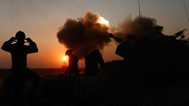 Ізраїль відповів на ракетні обстріли потужними танками та авіацією