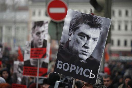 Сквер упосольстваРФ вКиеве будет переименован вчесть Бориса Немцова