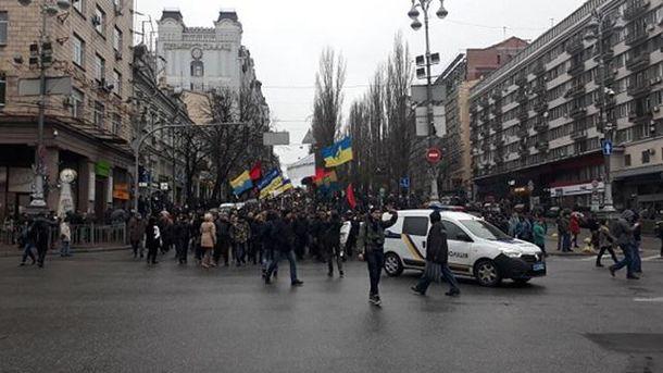 Уцентрі Києва запорядком стежать близько 1 тисячі правоохоронців
