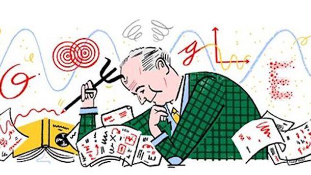 Google посвятил дудл Максу Борну— одному из основоположников квантовой механики