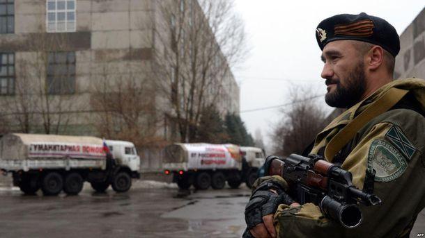 Російські війська воюють на Донбасі