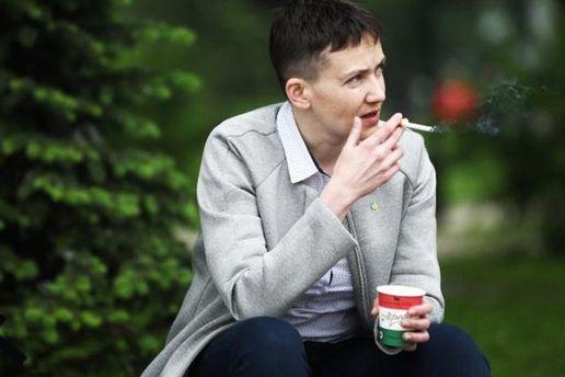 Надія Савченко знялася у польського фотографа