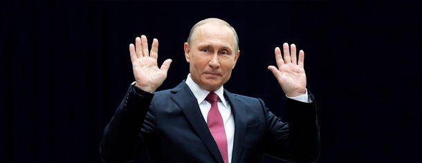 Самарский плакат соЖдуном засветился напресс-конференции В.Путина