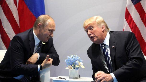 Путін вірить, щоТрампу заважають покращити відносини зРФ