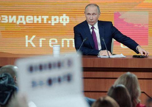 Ви взагалі нормальні люди, – Путін грубо відповів журналістці