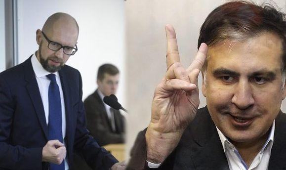 Як Яценюк, відтягуючи увагу від суду над Саакашвілі – прикрив виправдання ректора-втікача