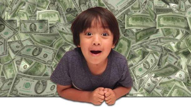 6-летний парень зарабатывает USD 11 млн. вгод