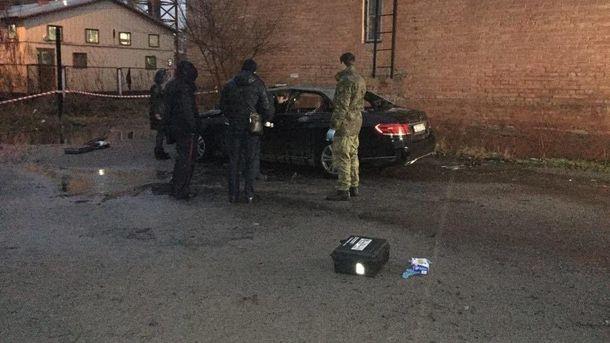 Автомобиль обвинителя взорвался вДнепре