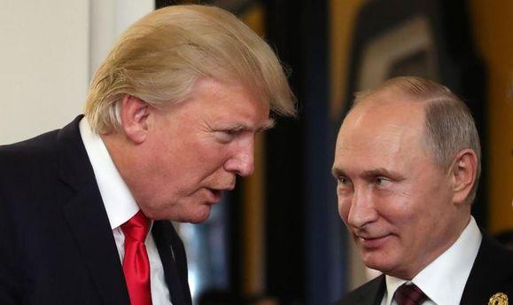 Стало відомо, про щопотелефону говорили Трамп і Путін