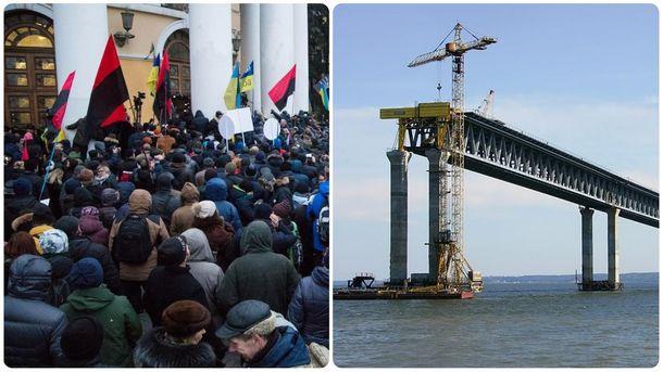 Главные новости 17 декабря: штурм экс-Октябрьского дворца, Керченского моста больше не будет
