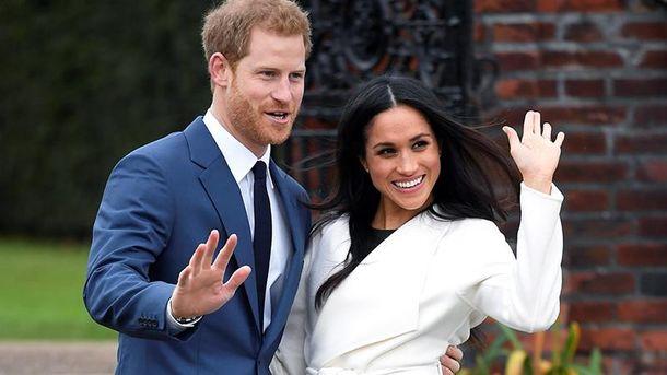 Стала відома офіційна дата весілля принца Гаррі таМеган Маркл