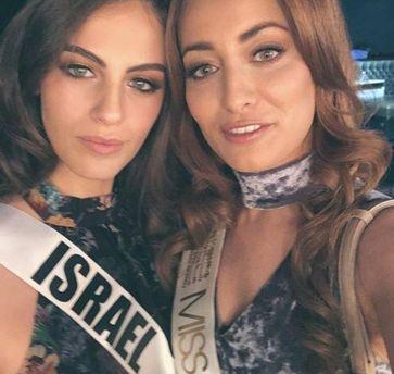 «Мисс Ирак» затравили зафото с«Мисс Израиль»