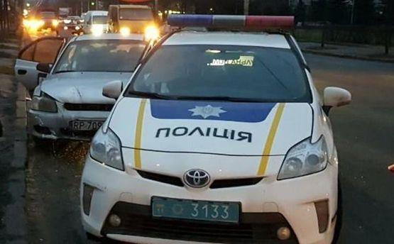 ВКиеве шофёр  Uber под кайфом влетел вполицейских
