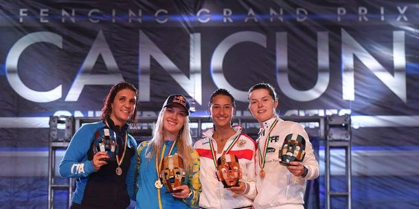 Українська фехтувальниця завоювала «золото» Кубка світу