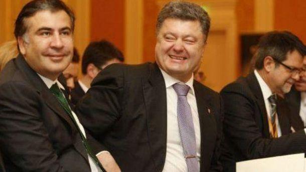 Мені сказали, щоПрезидент готовий зустрітися,— Саакашвілі розповів, про щописав Порошенкові