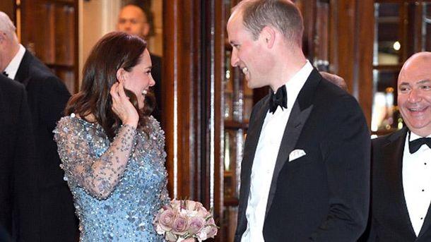 Принц Уильям рассмешил публику чудной выходкой