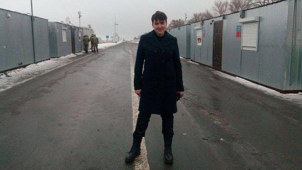 Савченко сказала, что продолжит ездить вОРДЛО