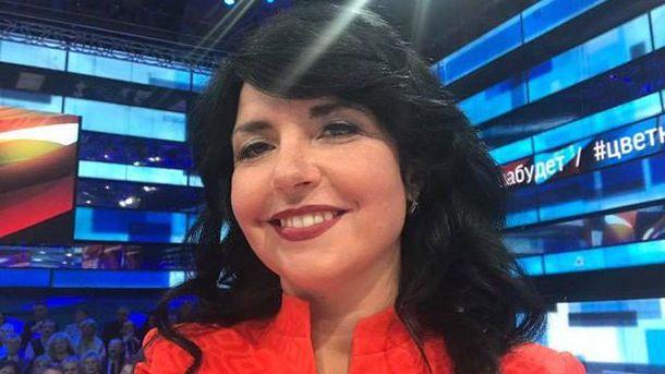 Українська журналістка на російському каналі заявила про повернення Криму