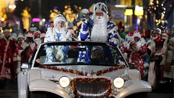24декабря впарке «Фили» встретят Деда Мороза