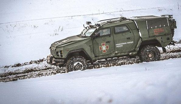 Нацгвардия Украины проверила новый бронеавтомобиль «Дозор-Новатор»
