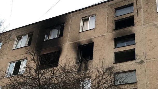 УЛьвові під час пожежі довелося евакуювати 3 під'їзди жителів