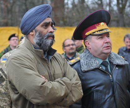 Украине нужны правильные возможности нафоне агрессии РФ  — руководитель  Минобороны Канады