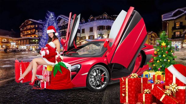 Новий рік автомобільний