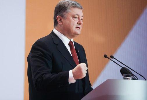 Порошенко дал поручение восстановить переговоры сРФ позаложникам