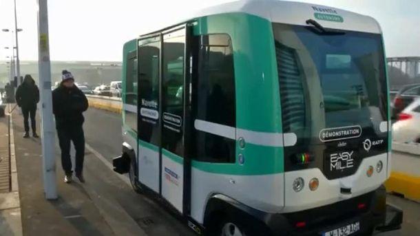 ВСтокгольме сянваря начнут курсировать бесплатные беспилотные автобусы
