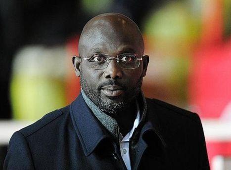 Прежний форвард «Милана» Веа избран президентом Либерии