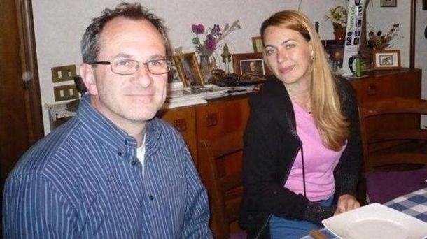 Софія Мельник поряд зі своїм співмешканцем – італійцем Паскалем Даніелем Албанезе