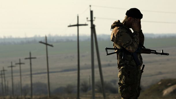 Новогодняя ночь вАТО: ранили одного военного