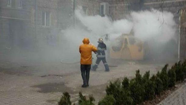 ВКиеве наКрещатике произошел взрыв