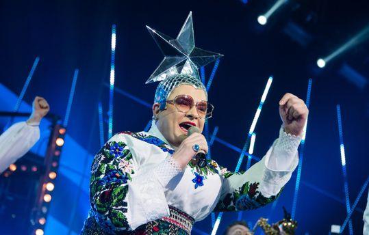 Вновогоднюю ночь судья «Х-Фактора» выступил в Российской Федерации