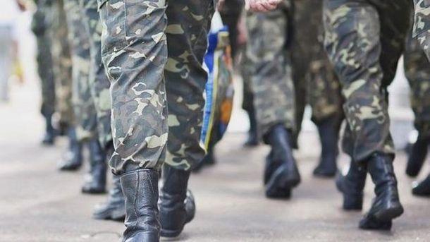 В столице задержали ветерана АТО наДонбассе